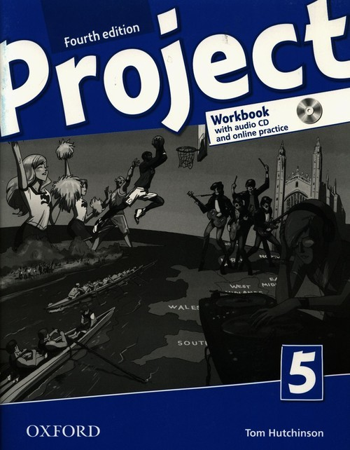 okładka Project Level 5 Workbook with Audio CD and Online Practice Poziom: False Beginner to Intermediate (A1-mid B1)książka |  | Hutchinson Tom
