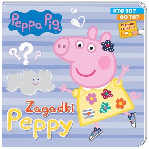 okładka Peppa Pig. Kto to? Co to? Zagadki Peppyksiążka |  | Opracowanie zbiorowe