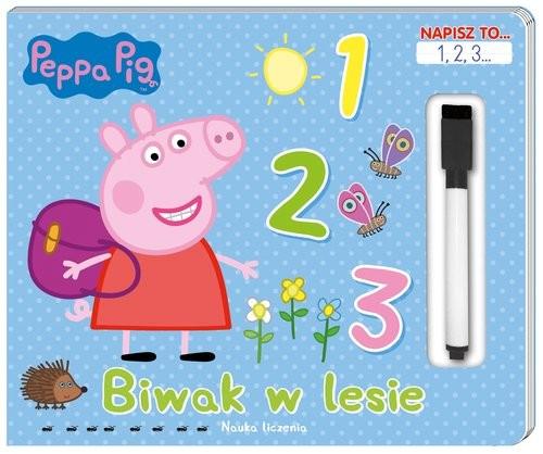 okładka Peppa Pig. Napisz to… 1,2,3... Biwak w lesie.książka |  | Opracowanie zbiorowe