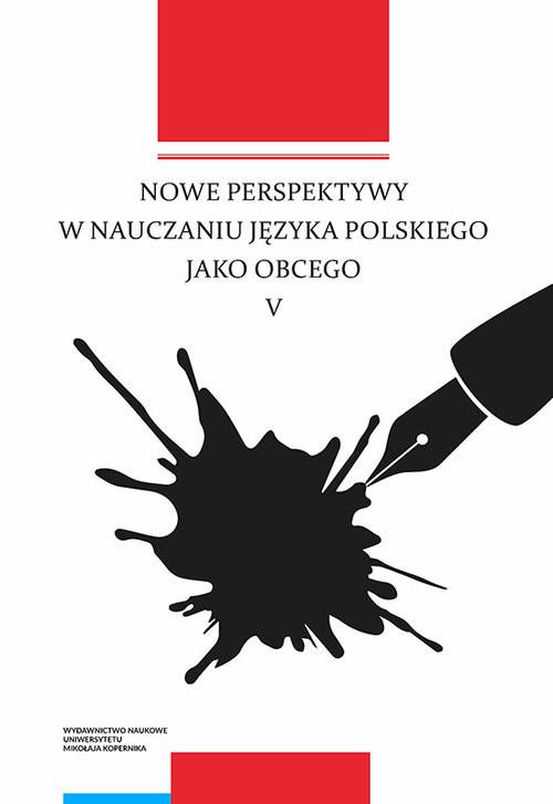 okładka Nowe perspektywy w nauczaniu języka polskiego jako obcego Vksiążka |  |