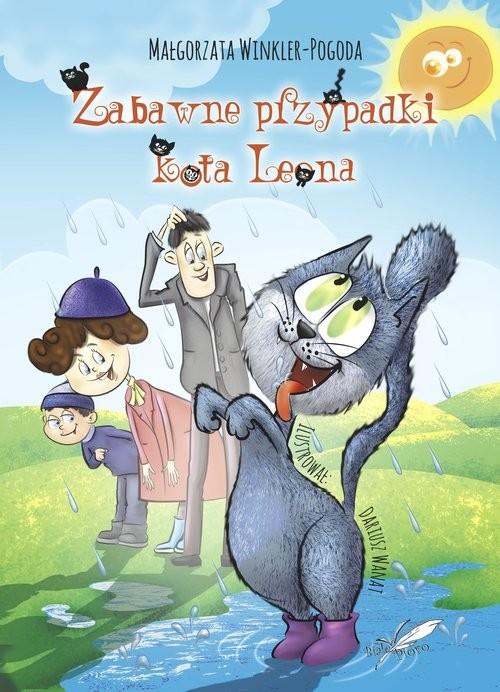 okładka Zabawne przypadki kota Leonaksiążka      Winkler-Pogoda Małgorzata