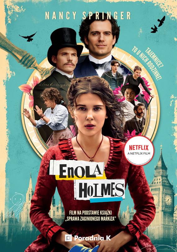 okładka Enola Holmes. Sprawa zaginionego markizaebook | epub, mobi | Nancy Springer