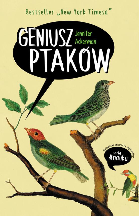 okładka Geniusz ptakówebook | epub, mobi | Ackerman Jennifer