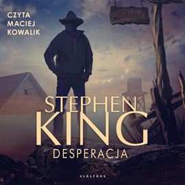 okładka Desperacjaaudiobook   MP3   Stephen King