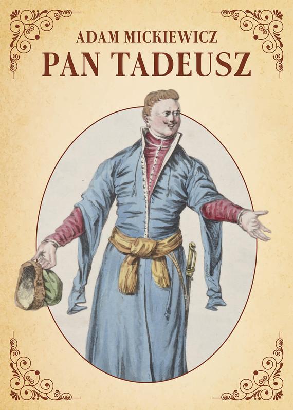 okładka Pan Tadeuszebook | epub, mobi, pdf | Adam Mickiewicz