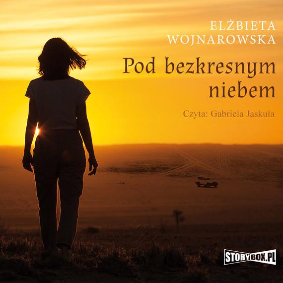 okładka Pod bezkresnym niebemaudiobook   MP3   Elżbieta Wojnarowska