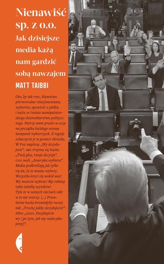 okładka Nienawiść sp. z o.o.ebook   epub, mobi   Matt Taibbi