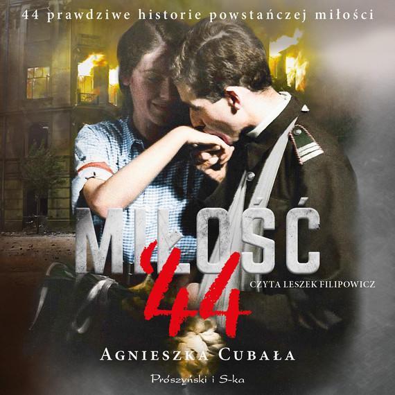 okładka Miłość`44audiobook | MP3 | Agnieszka Cubała