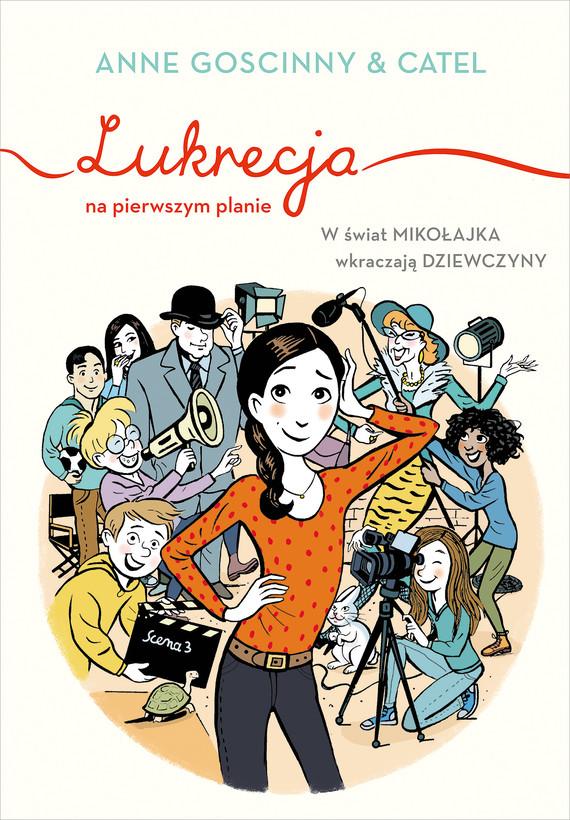 okładka Lukrecja na pierwszym planieebook | epub, mobi | Anne Goscinny