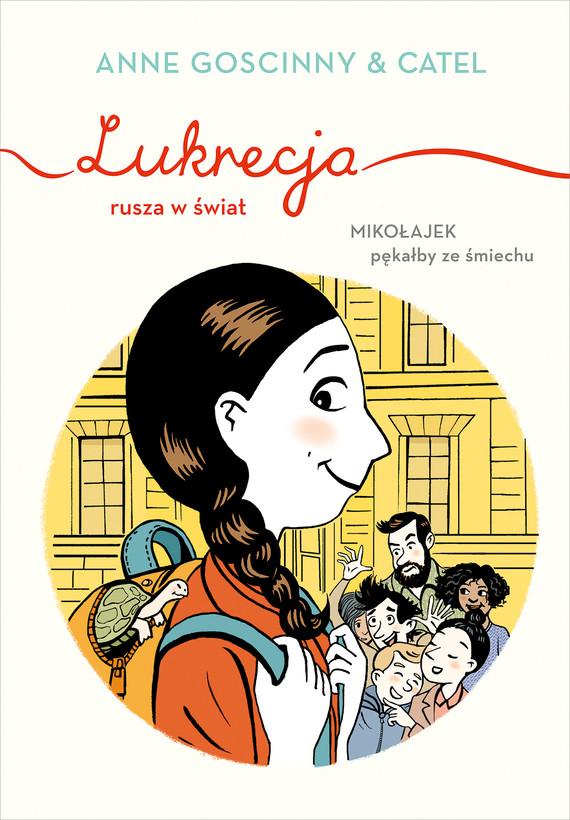 okładka Lukrecja rusza w światebook | epub, mobi | Anne  Goscinny