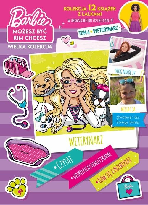 okładka Barbie Możesz być kim chcesz Część 4 Weterynarzksiążka |  |