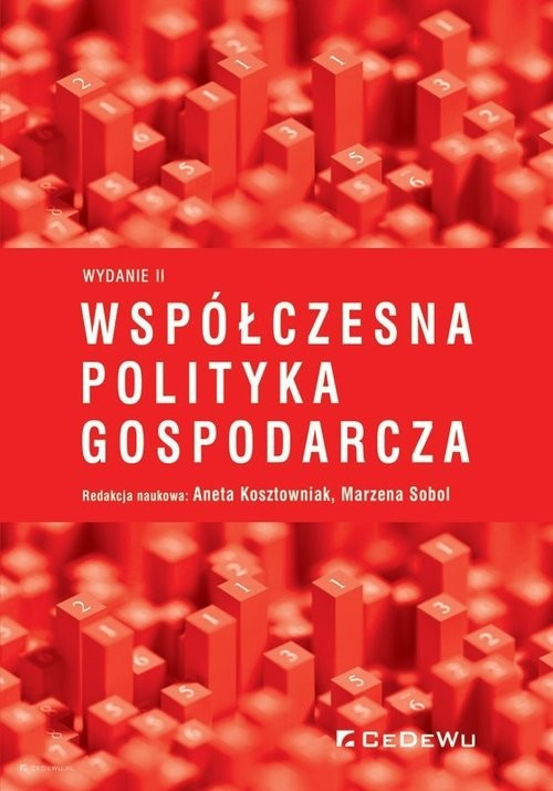 okładka Współczesna polityka gospodarczaksiążka |  |