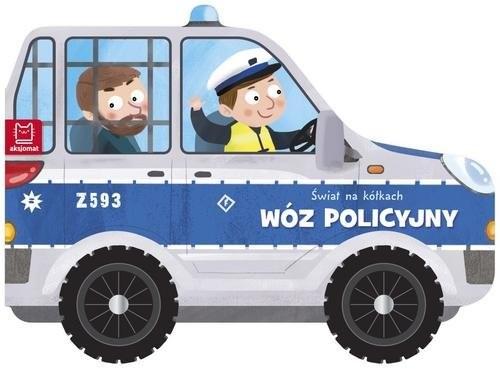 okładka Świat na kółkach Wóz policyjnyksiążka     