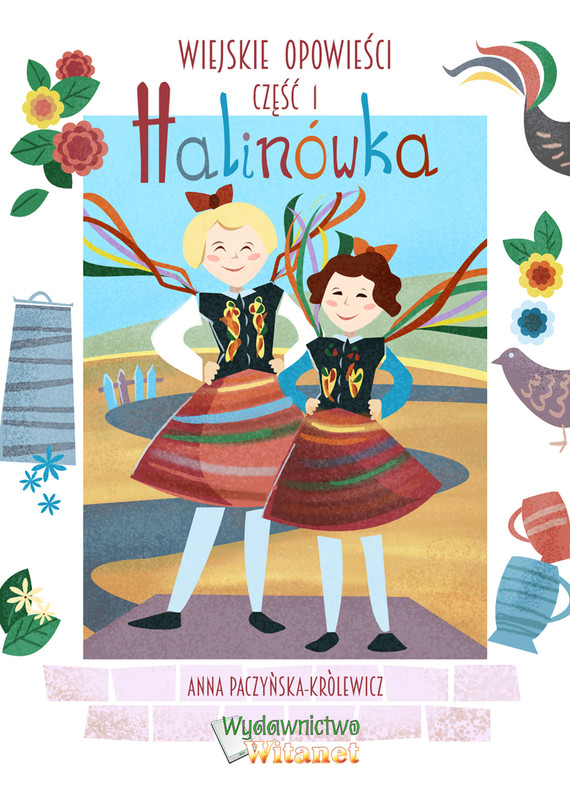 okładka Halinówkaebook | epub, mobi | Anna Paczyńska-Królewicz