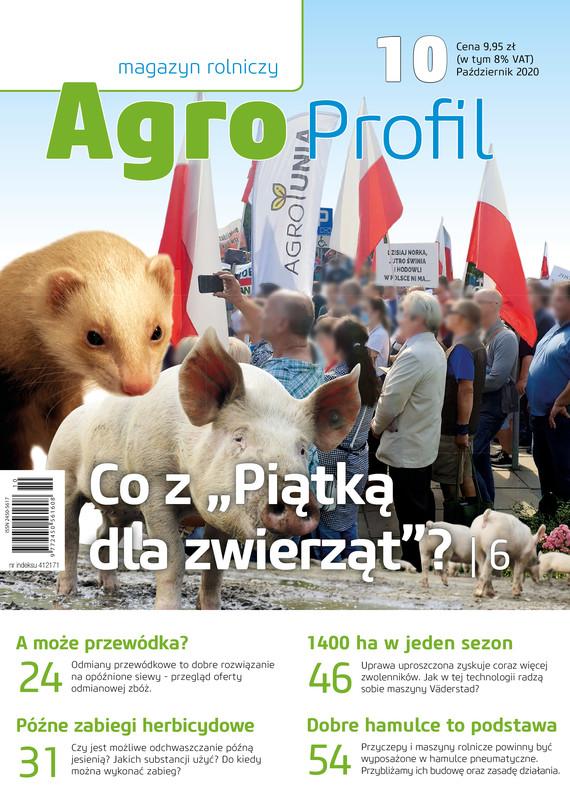 okładka Agro Profil 10/2020ebook | pdf | praca zbiorowa