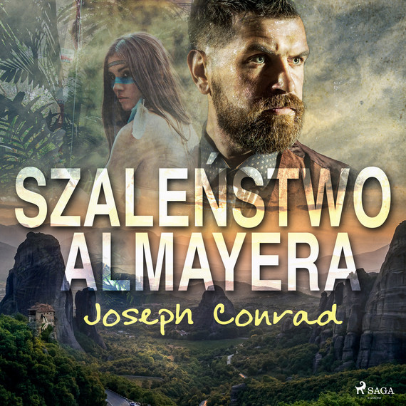 okładka Szaleństwo Almayeraaudiobook | MP3 | Joseph Conrad