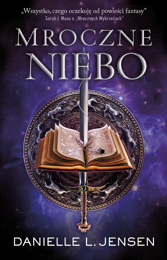 okładka Mroczne nieboebook | epub, mobi | Danielle L. Jensen