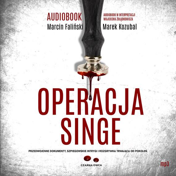 okładka Operacja Singeaudiobook | MP3 | Marek Kozubal, Marcin Faliński