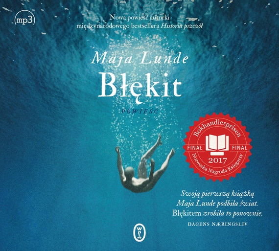 okładka Błękitaudiobook   MP3   Maja Lunde