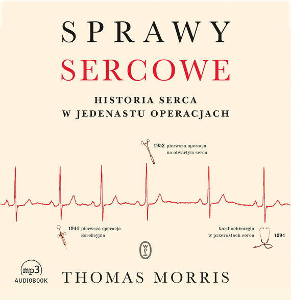 okładka Sprawy sercoweaudiobook | MP3 | Thomas Morris