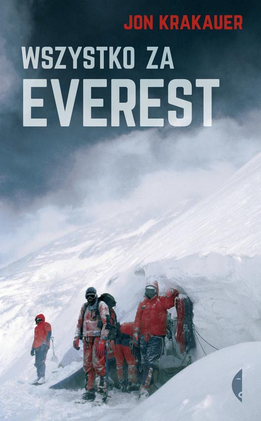 okładka Wszystko za Everestebook | epub, mobi | Jon Krakauer