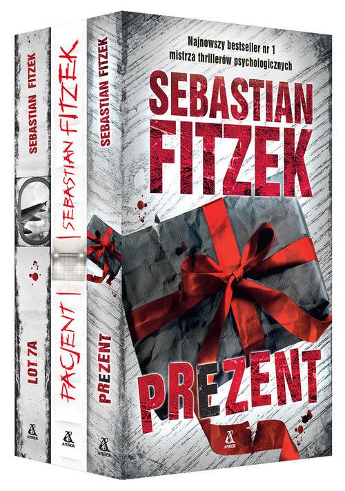 okładka Prezent / Pacjent / Lot 7A Pakietksiążka |  | Sebastian Fitzek