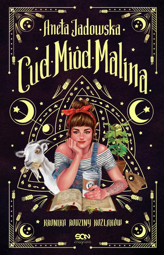 okładka Cud, miód, Malinaebook | epub, mobi | Aneta Jadowska