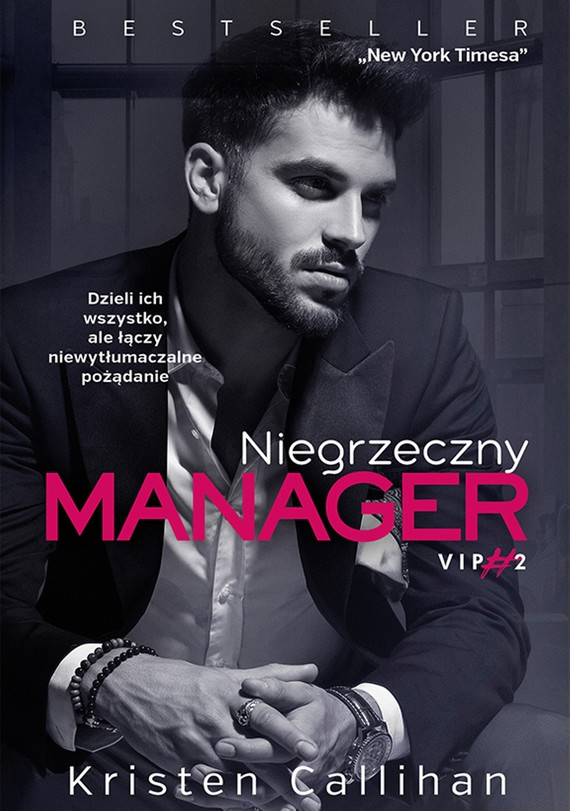 okładka Niegrzeczny managerebook | epub, mobi | Kristen Callihan