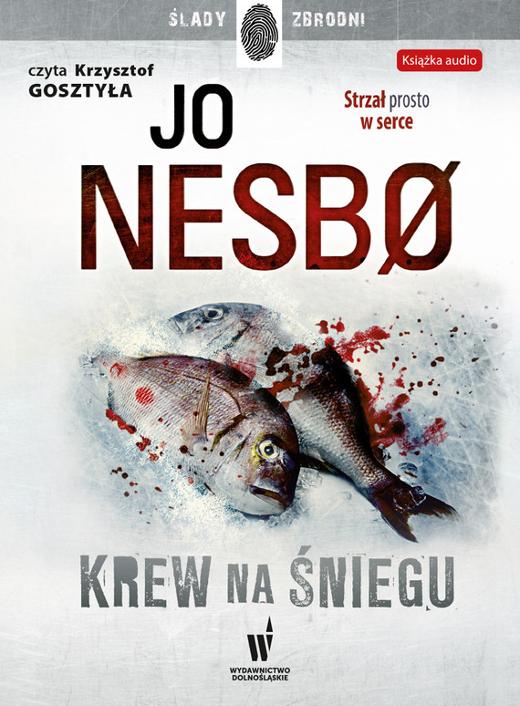 okładka Krew na śnieguaudiobook | MP3 | Jo Nesbo