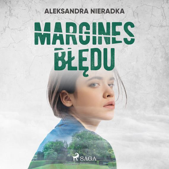 okładka Margines błęduaudiobook | MP3 | Nieradka Aleksandra