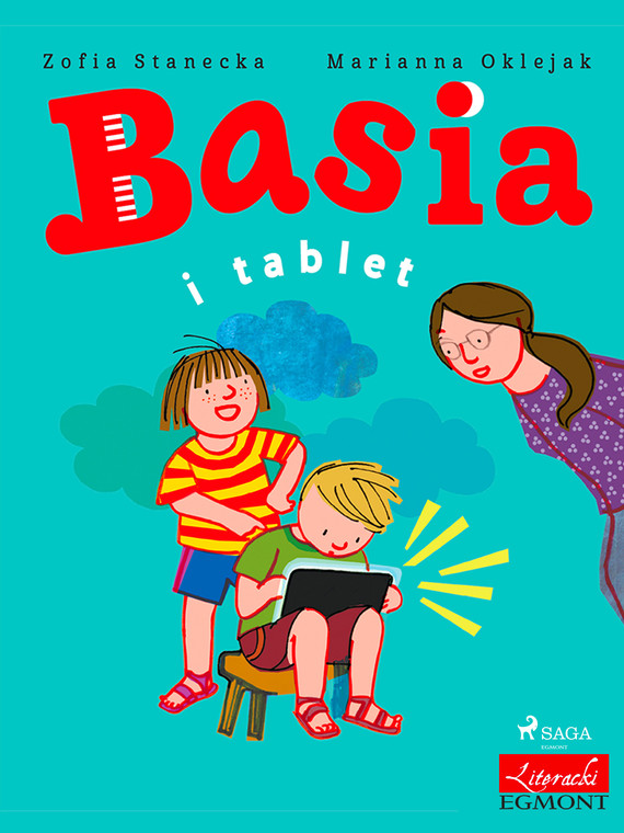 okładka Basia i tabletebook   epub, mobi   Zofia Stanecka