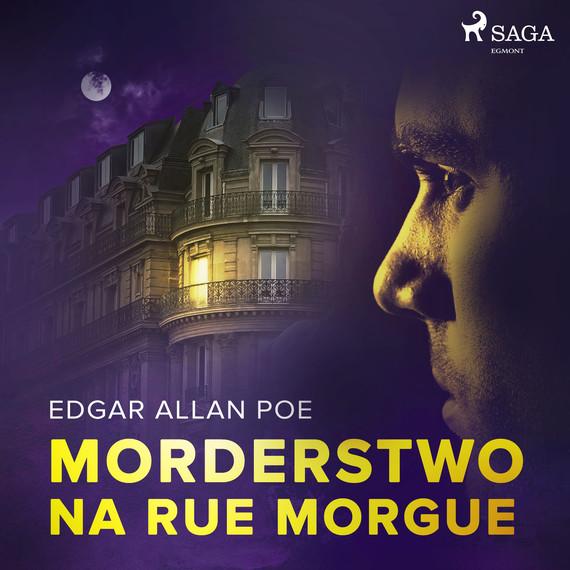 okładka Morderstwo na Rue Morgueaudiobook   MP3   Edgar Allan Poe