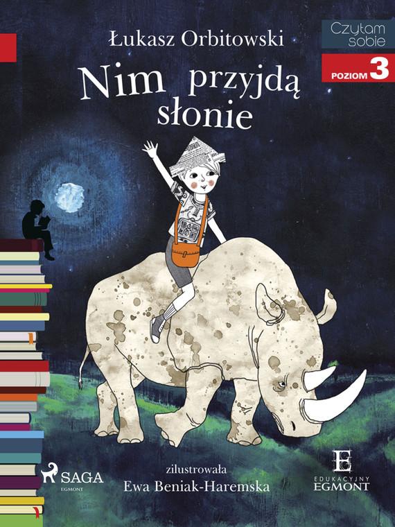 okładka Nim przyjdą słonieebook   epub, mobi   Łukasz Orbitowski