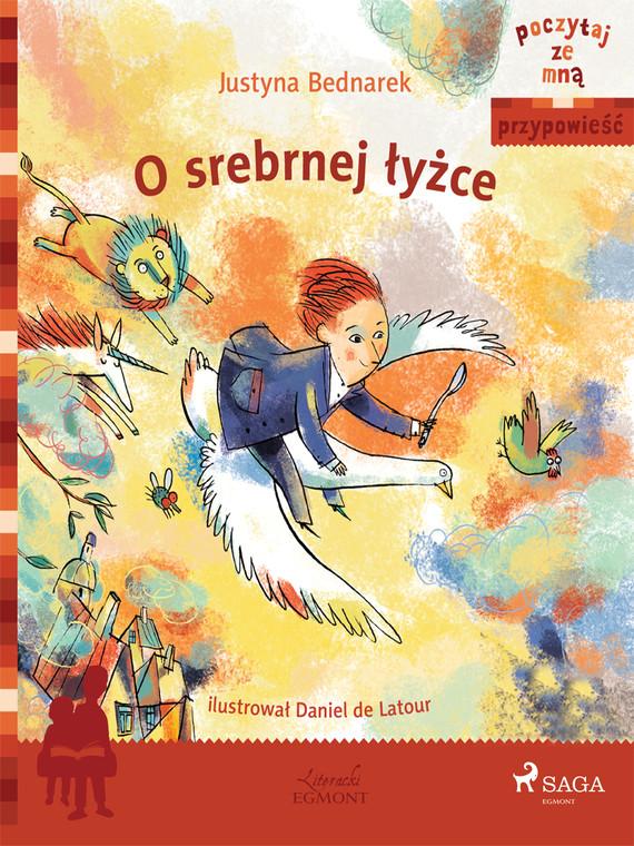 okładka O srebrnej łyżceebook   epub, mobi   Justyna Bednarek