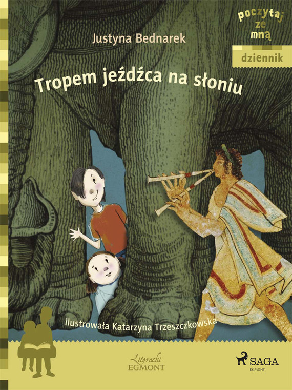 okładka Tropem jeźdźca na słoniuebook   epub, mobi   Justyna Bednarek