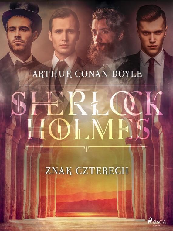 okładka Znak Czterechebook   epub, mobi   Arthur Conan Doyle