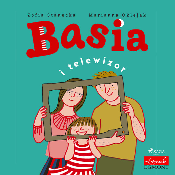 okładka Basia i telewizoraudiobook | MP3 | Zofia Stanecka