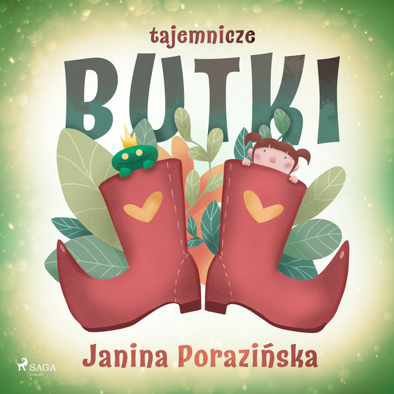okładka Tajemnicze butkiaudiobook   MP3   Janina Porazinska