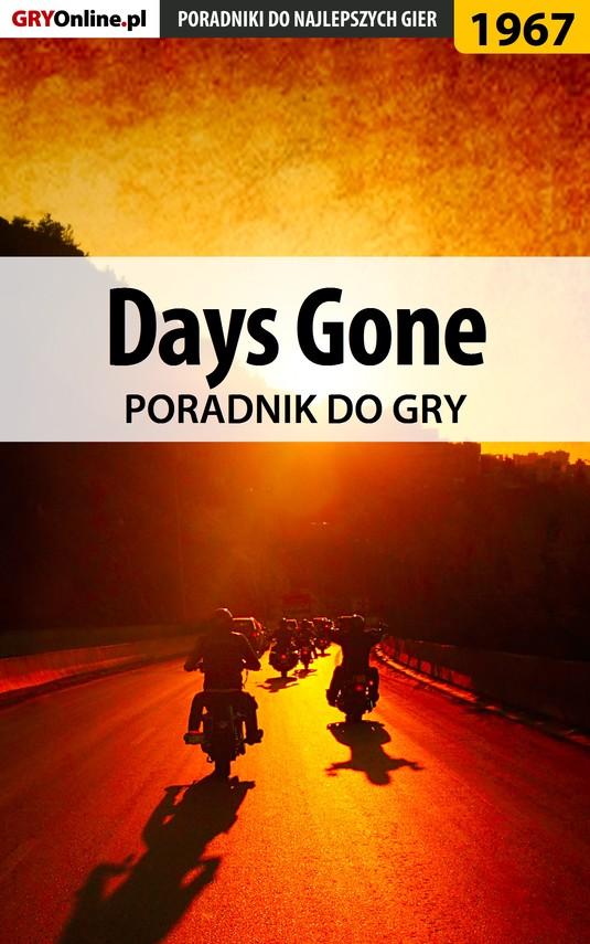 okładka Days Gone - poradnik do gryebook   epub, mobi   Jacek Hałas