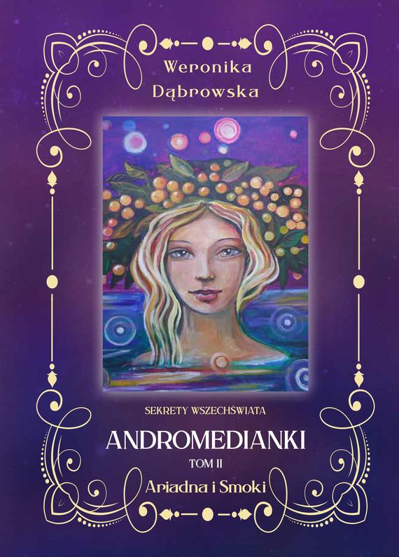 okładka Andromedianki Tom 2ebook | pdf | Dąbrowska Weronika