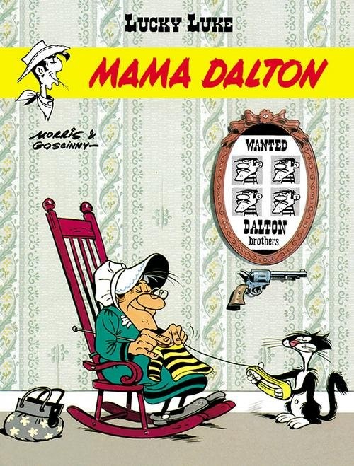 okładka Lucky Luke Mama Dalton Tom 38książka |  | René Goscinny, Morris .