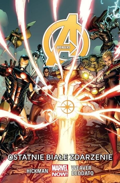 okładka Avengers - Ostatnie białe zdarzenie, Tom 2książka |  |