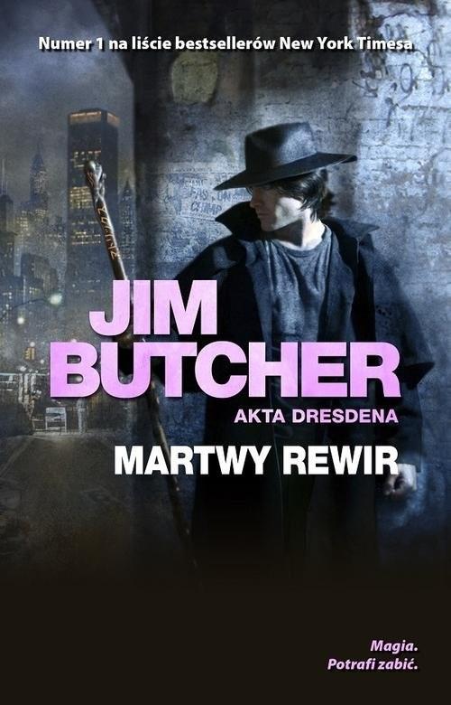 okładka Martwy rewir Akta Dresdena Tom 7książka |  | Butcher Jim