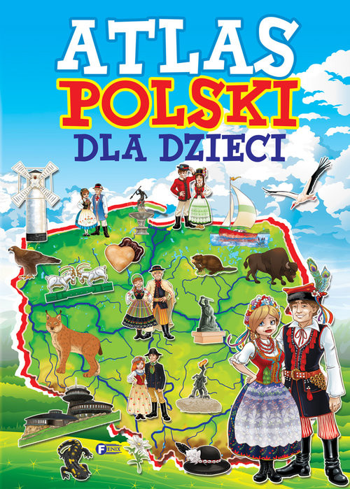 okładka Atlas Polski dla dzieciksiążka     