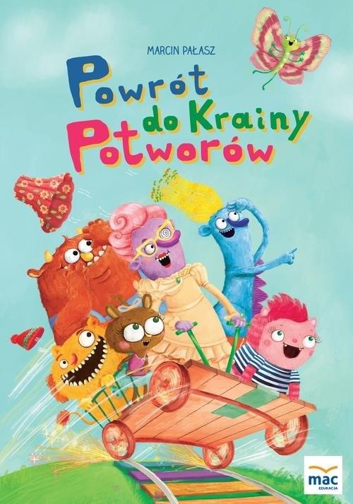 okładka Powrót do Krainy Potworówksiążka |  | Marcin Pałasz