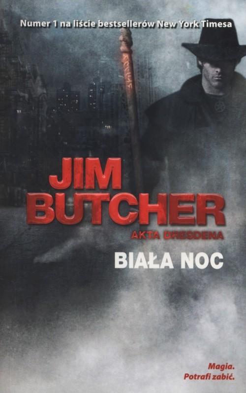 okładka Biała noc Akta Dresdena tom 8książka      Jim Butcher