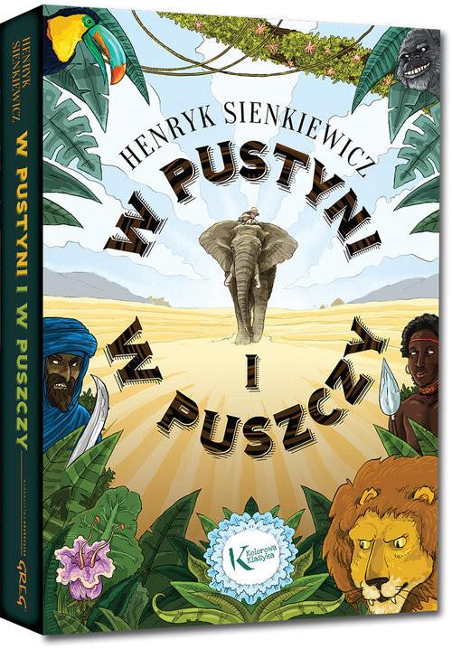 okładka W pustyni i w puszczyksiążka      Henryk Sienkiewicz