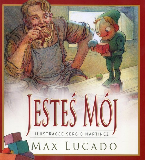 okładka Jesteś mójksiążka |  | Max Lucado