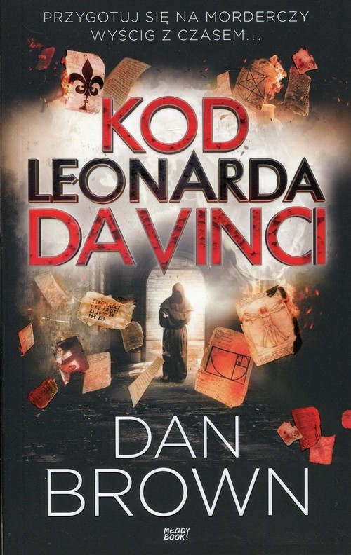 okładka Kod Leonarda da Vinci wydanie skróconeksiążka      Dan Brown