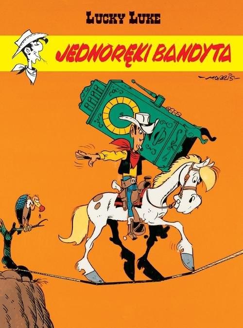 okładka Lucky Luke Jednoręki bandytaksiążka     